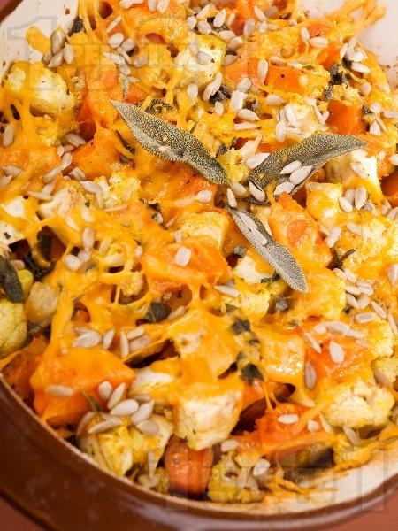 Празнично печиво за вегетарианци - снимка на рецептата